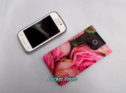 "Etui samsung galaxy,Iphone,portable""Collection Enivrante""coton imprime,roses"